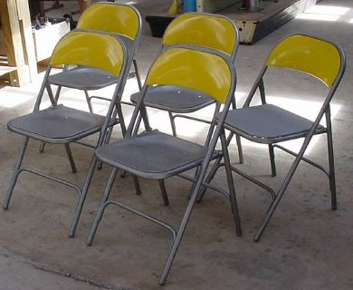 Samson folding chairs