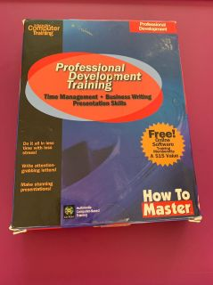How to master: professional development training time management business writing presentation skills cd-rom