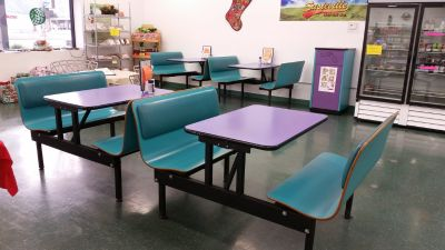 Restaurant/Cafe/Lunchroom Tables and Booths