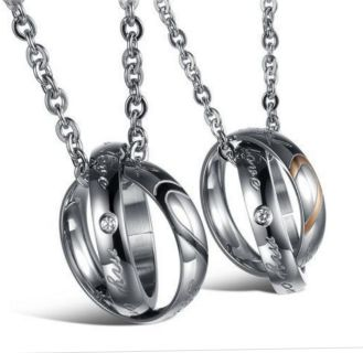 his and her ring necklaces