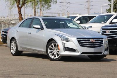 2018 Cadillac CTS 2.0T (radiant silver metallic)