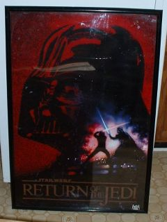 movie poster starwars return of the jedi
