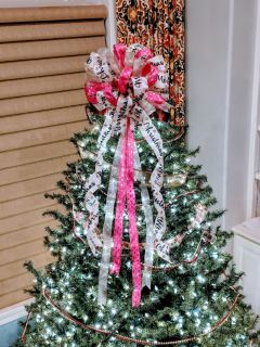 Beautiful Custom Bow Tree toppers (see all pictures)