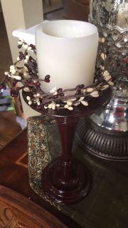 Candle holder and decor
