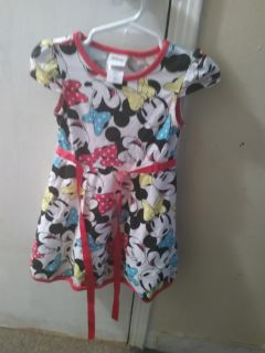 Toddler Girl Mickey Mouse dress