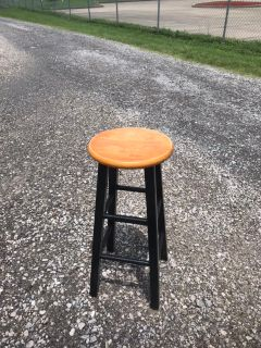 Black painted Bar stool