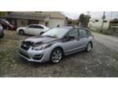 2015 Subaru Impreza Wagon 5 speed stick