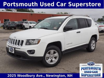 2017 Jeep Compass Sport (Bright White Clearcoat)