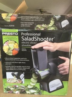 """Presto 02970 Electric Professional Salad Shooter"""
