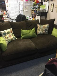 Brown couch free