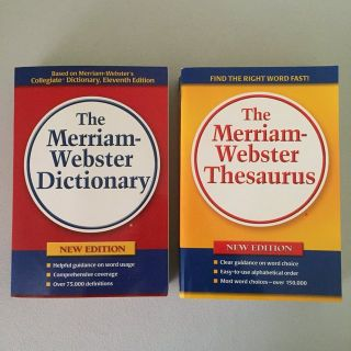 Dictionary/Thesaurus Set