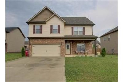 4 Spacious BR in Clarksville. 2 Car Garage!