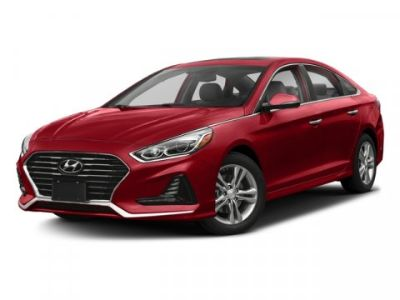 2018 Hyundai Sonata Limited (Scarlet Red)