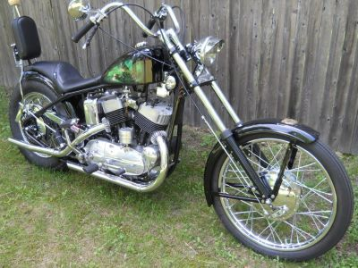 1954 Harley KH Tribute to the Armed Forces stroker chopper