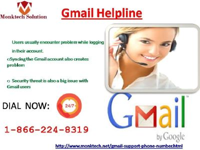 Gmail Helpline 1-866-224-8319 Provide endless Service