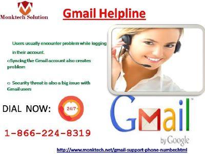 Gmail Helpline 1-866-224-8319 Provide endless Service