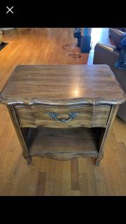 ISO this 1979 Thomasville nightstand or similar. Must be solid wood. Prefer project piece