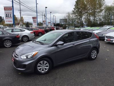 2017 Hyundai Accent GS (Triathlon Gray Metallic)