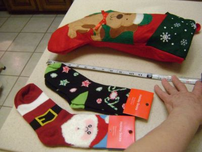 Ladies Christmas Novelty Socks NWT - (Puppy Stocking Is SOLD)