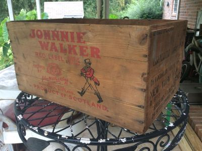 Johnnie walker box