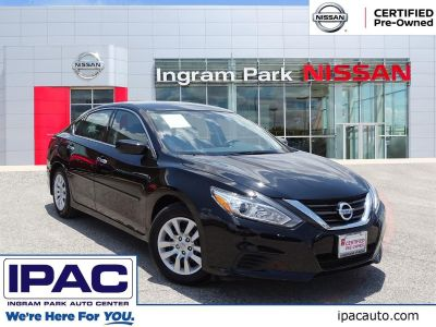 2017 Nissan Altima 2.5 S (Super Black)