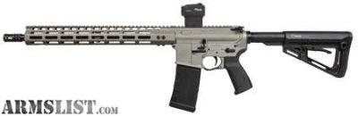 "For Sale: Sig Sauer, M400, Elite, Semi-automatic, AR, 223 Rem, 556NATO, 16"", Titanium, Collapsible Stock, Romeo, 30Rd"
