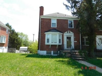 3 Bed 1.5 Bath Foreclosure Property in Baltimore, MD 21239 - Woodbourne Ave