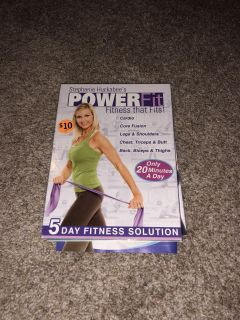 Brand new power for set (5 DVD s, band and eating guide)