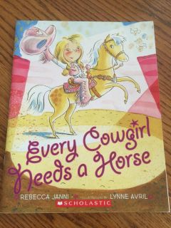 Every Cowgirl Needs A Horse Book