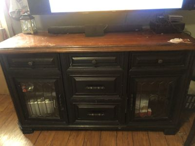 Solid Wood Tv console $350 OBO