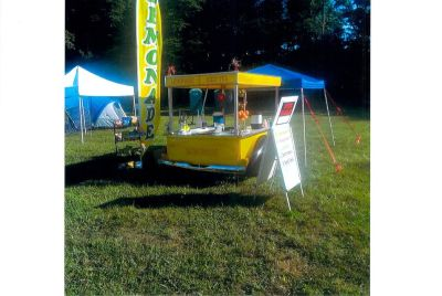 1950s Style Pickup Truck Lemonade Trailer