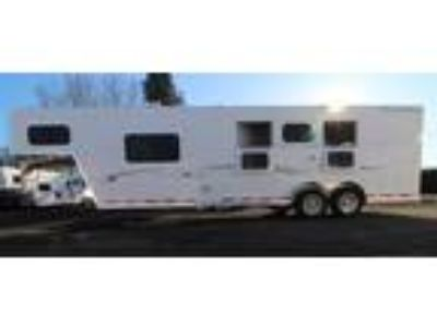 2019 Trails West Classic 10x10 Side Tack Easy Care Flooring 3 horses