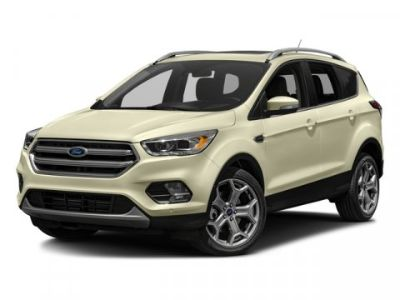 2017 Ford Escape Titanium (Red)