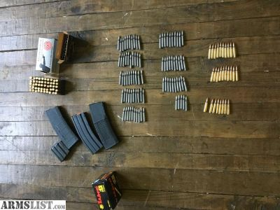 For Sale: 5.56/.223 ammo/mags