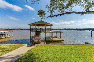 109 Casas Del Sur Street Granbury Five BR, lakefront dream