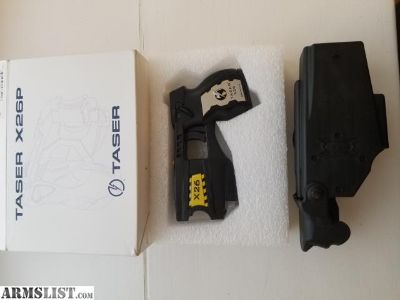 For Sale: Black Taser x26 with Holster and Box