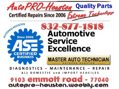 CERTIFIED Mobile Mechanics | AutoPRO-Houston
