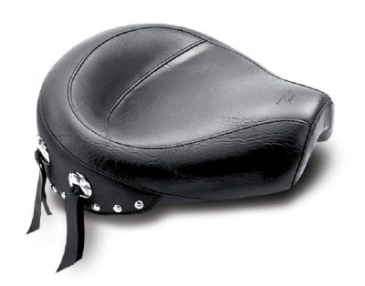 Find Mustang Wide Studded Solo Seat For 1996-2003 Harley Davidson XL Sportster motorcycle in Ashton, Illinois, US, for US $249.95