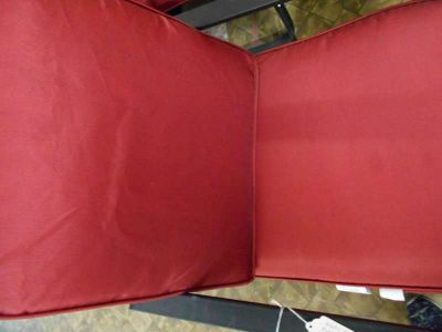 Multi Purpose Red and Black Chair