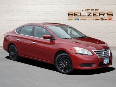 2015 Nissan Sentra S (Cayenne Red)