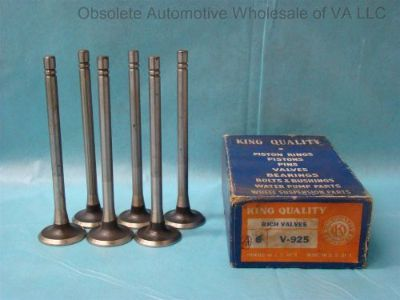 Purchase International Truck 241 250 259 269 Exhaust Valve Set 6 IH Blue Diamond 1933-54 motorcycle in Roanoke, Virginia, United States, for US $126.00