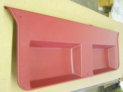 Sell NOS OEM Ford Bronco II 2 Interior Hatch Trim Panel Red 1987 1988 1989 1990 motorcycle in Evansville, Indiana, US, for US $229.00