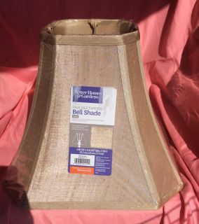 NWT Bell Shaped Lamp Shade. Measurements in pictures