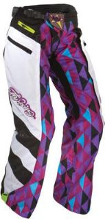 Buy 2012 Fly Racing Women's Kinetic Over-Boot Pants (PURPLE/TEAL) Purple/Teal/Black motorcycle in Loudon, Tennessee, US, for US $97.27