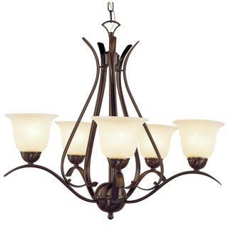 New 5 light chandelier
