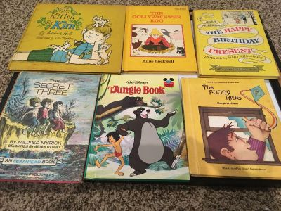 Vintage storybook collection