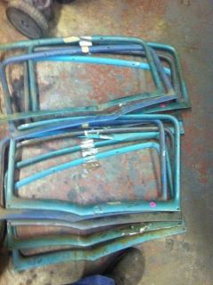 Purchase 55 56 57 CHEVY 4 DOOR SEDAN LEFT REAR DOOR GARNISH TRIM MOLDING USED motorcycle in Fort Worth, Texas, US, for US $25.00