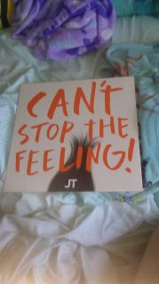 Can't stop the feeling record