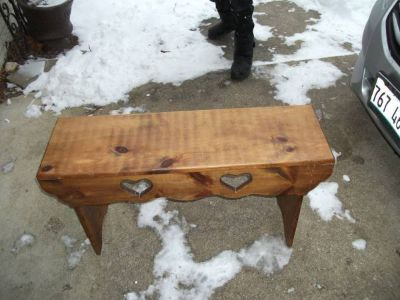 BENCH ALL WOOD MINT