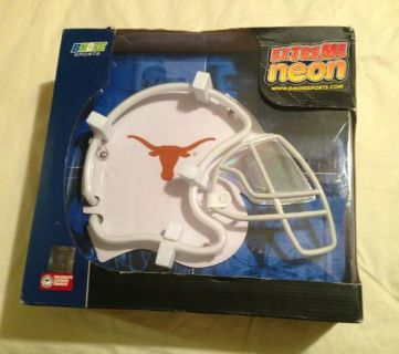 Extreme Neon Texas Longhorns Football Helmet Light